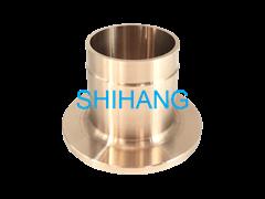 copper nickel long weld neck inner flange