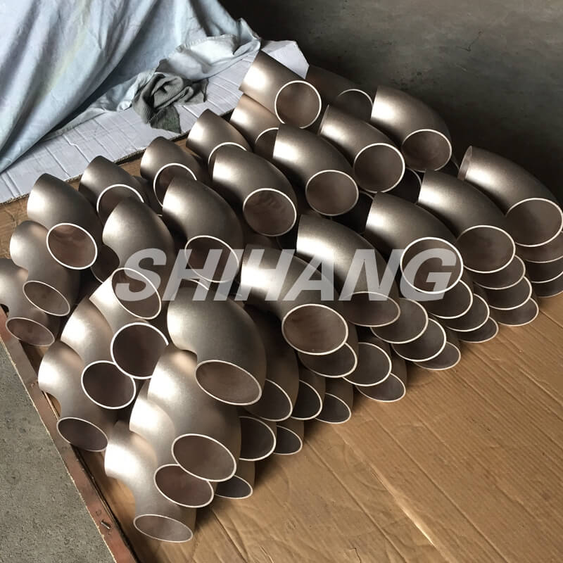 copper nickel pipe fittings - elbow