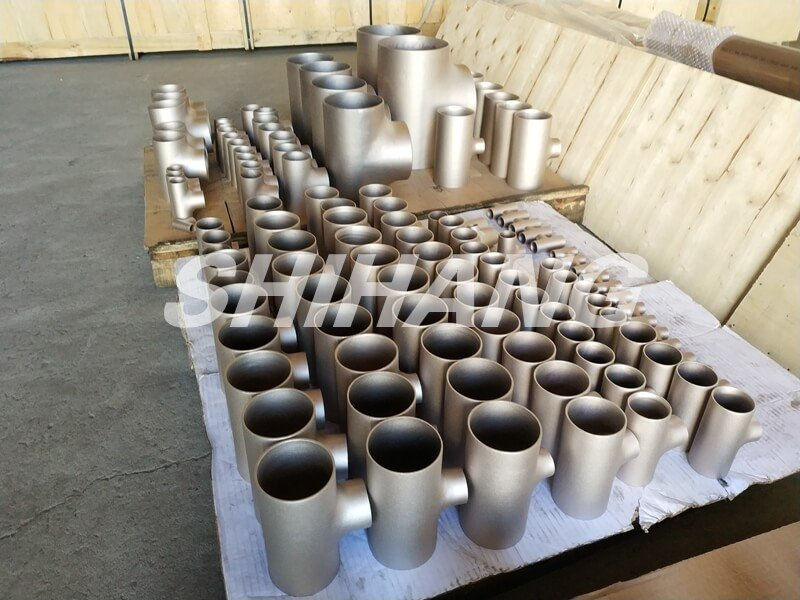 copper nickel pipe fittings - tee